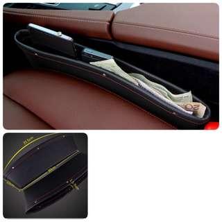 One Pair car seat storage or pocket