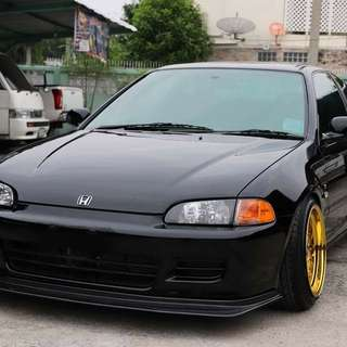 Honda Civic EJ1 Thai Registration