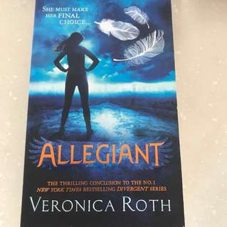 Special: Allegiant By Veronica Roth (The thrilling conclusion to the Divergent Series)