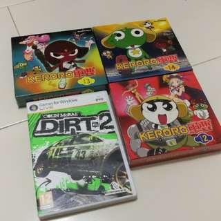 CDs + PC games