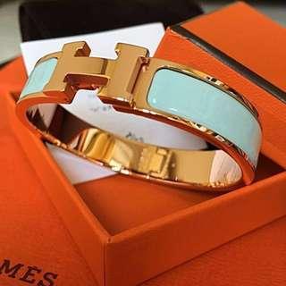 Hermes Clic H Bracelet PM Rose Gold HW