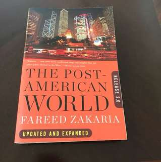 The post - American world