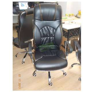 EXECUTIVE CHAIR LEATHERETTE--KHOMI