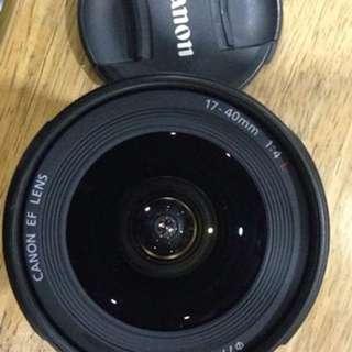 Canon Wide Lense 17 - 40mm