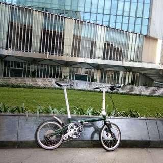 Sepeda lipat fnhon gust premium mumer