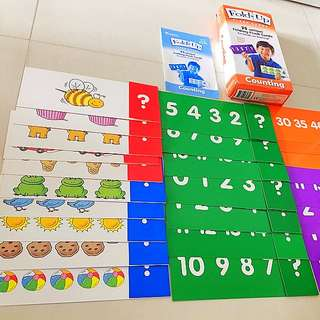 Learning Resources Fold-Up Flash Cards - Counting
