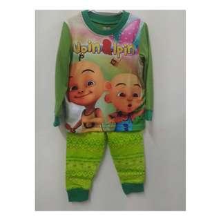 Clearance Stock - Green Upin Ipin Pyjamas