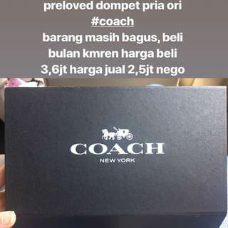 dompet pria / dompet coach