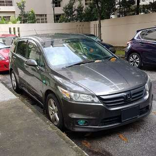 Honda Stream MPV for CNY Car Rental