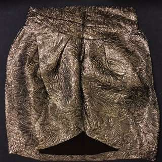 Isabel Marant x H&M Metallic Skirt 激罕