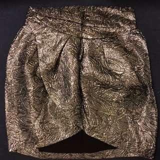 Isabel Marant x H&M Metallic Skirt 激罕