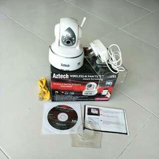 Wireless-N Pan/Tilt IP camera 408HD