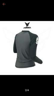 Rashguard with zipper unisex for men & women