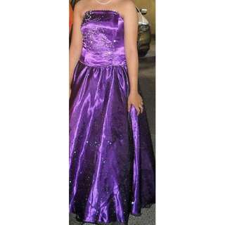 Violet Gown for rent