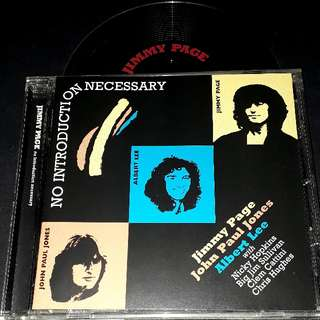Jimmy page (no introduction on necessary) cd rare collection led zeppelin