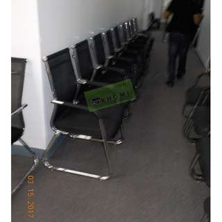 SLED TYPE VISITORS CHAIRS--KHOMI