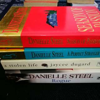 Used Novels. Used books. Danielle Steel and Jaycee Dugard