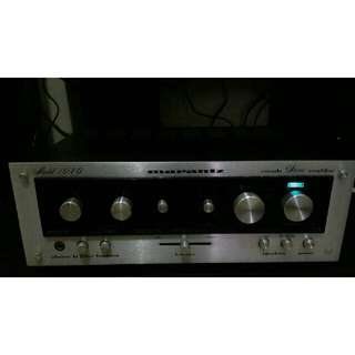 Amplifier marantz