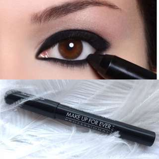 Make Up For Ever Aqua Shadow Black Waterproof Eye Shadow Pencil黑色防水眼影筆