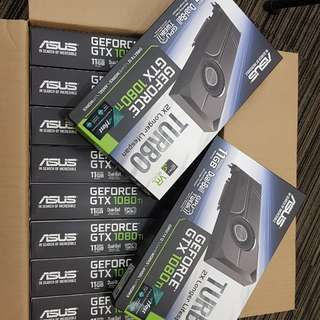 Asus Turbo Geforce GTX 1080TI 11G