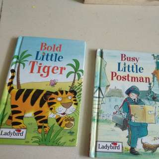 Ladybird bold little tiger, busy little postman