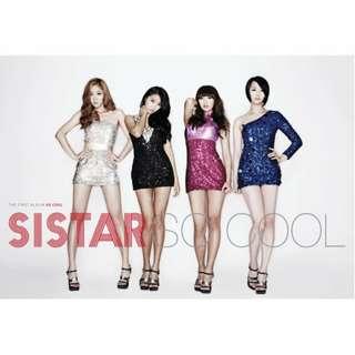 🚚 SISTAR「So Cool」韓國進口版