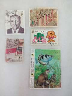 Singapore Stamps #10
