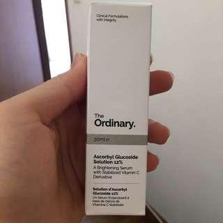 The Ordinary Ascorbyl Glucoside 12% Brand New in Box Vitamin C