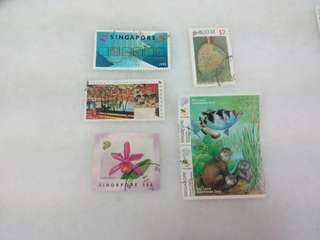 Singapore Stamps #12