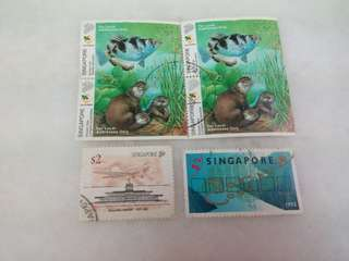 Singapore Stamps #13