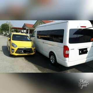 Van sewa 15seat pandu sendiri cl 0175890078