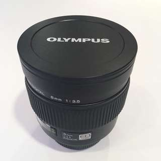 Olympus Lens 8mm f3.5 Fisheye