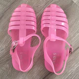 Cotton On Pink Jelly Sandals