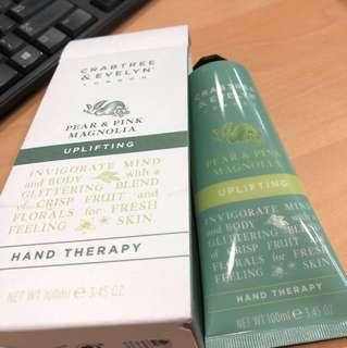 Crabtree & Evelyn uplifting hand cream