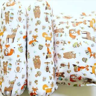 Baby Bedding Set - Indian Fox