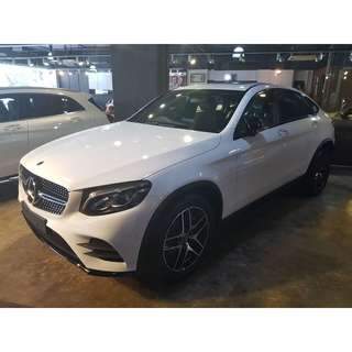 Mercedes Benz GLC250 Coupe AMG Line
