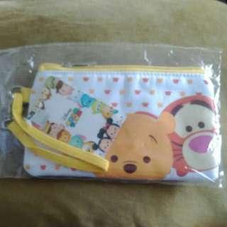 Disney Tsum Tsum Pouch Wristlet Winnie the pooh and tigger