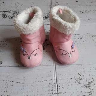 Prewalker boots pink