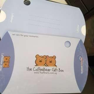Coffeebear Gift Box & Gift Card