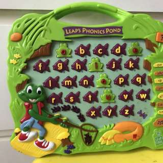 Leapfrog phonics pond
