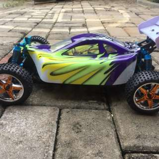 Hsp buggy top+ brushlees 70km/h
