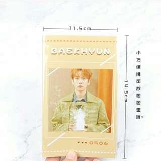 BaekHyun Photocard Holder 💕