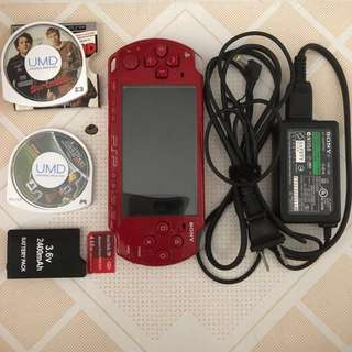 Sony PSP - 2001 (Red)