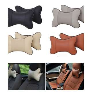 [FREE DELIVERY] Breathe Car Auto Seat Head Neck Rest Cushion Headrest Pillow