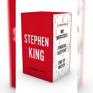 Bill Hodges Trilogy(Mr. Mercedes, Finders Keepers, and End of Watch) by Stephen King.