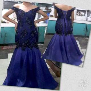 Mermaid Cut Gown for Rent/Sale