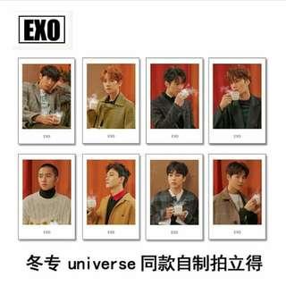 EXO Universe Polaroid 💕