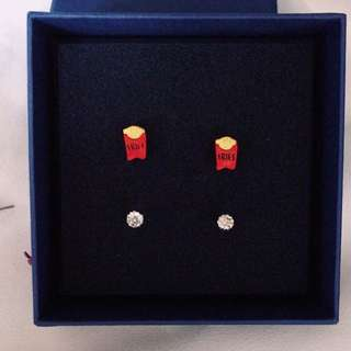 耳環(2對)