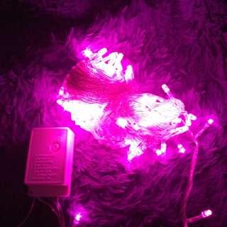 Lampu tumblr ( pink )