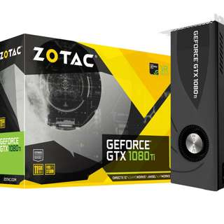 ZOTAC GeForce® GTX 1080 Ti 11GB DDR5